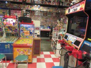 Salle rétro à Odaiba