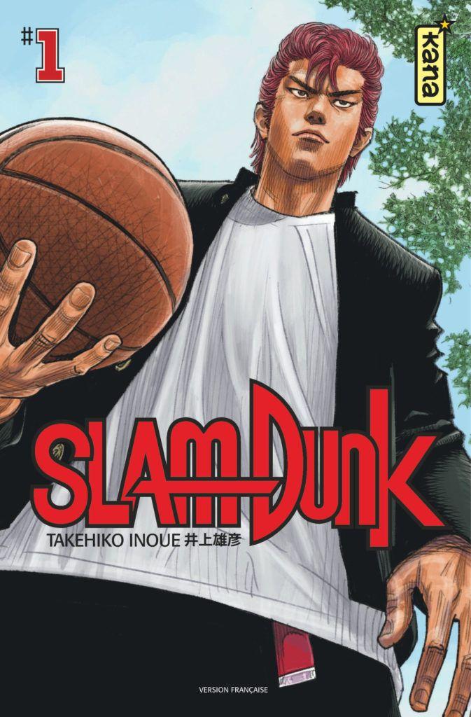 Couverture du tome 1 de Slam Dunk édition double chez Kana