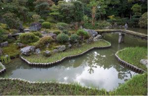 Le fuzei dans les jardins du Japon : page intérieure