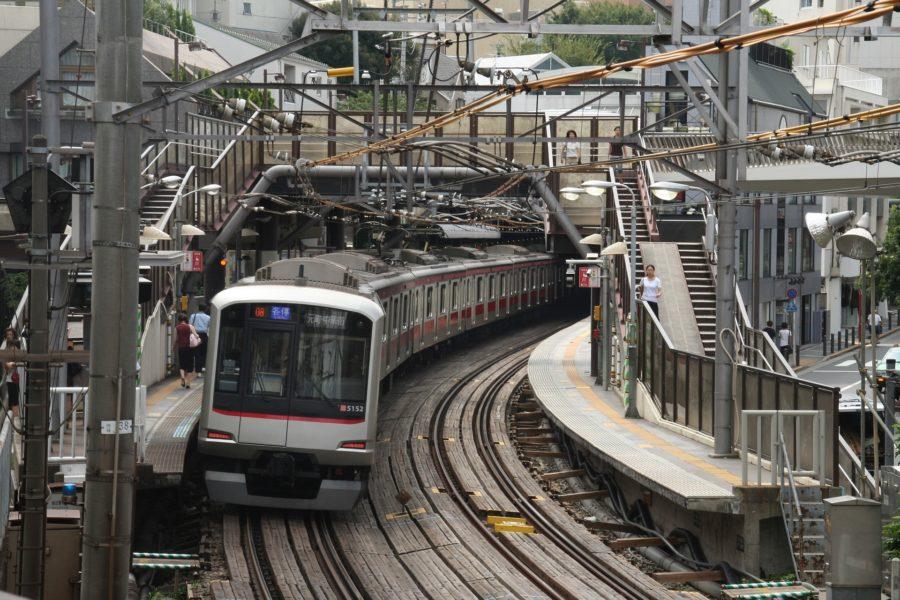 Train local japonais