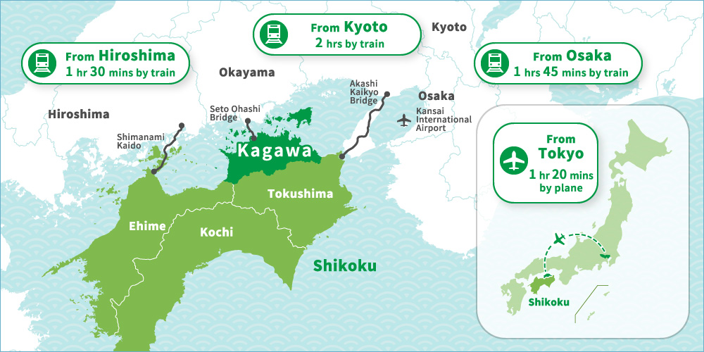 Carte Kagawa