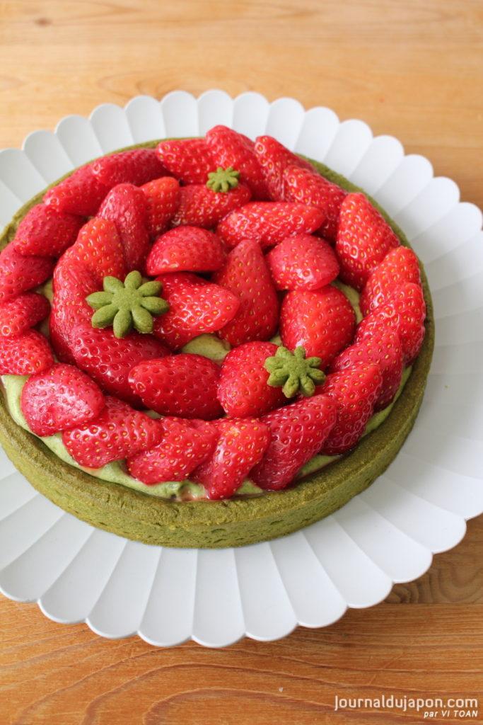 Tarte aux fraises Journal du Japon