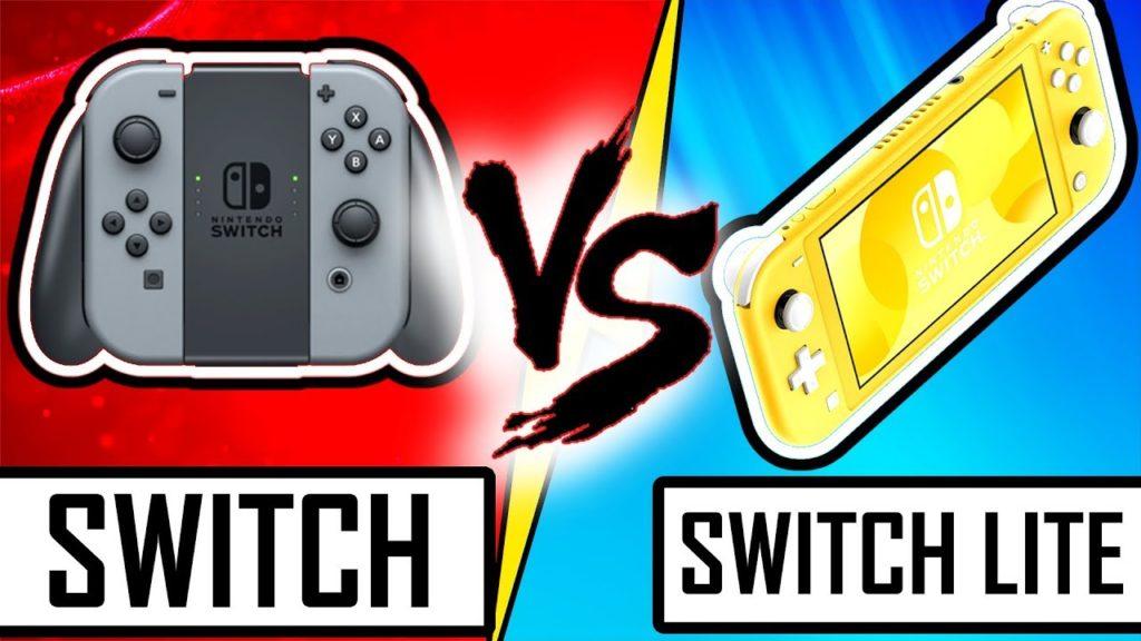 Switch versus Switch Lite