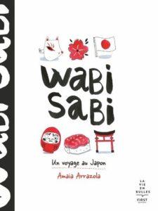 Wabi Sabi d'Amaia Arrazola, éditions Firts : couverture