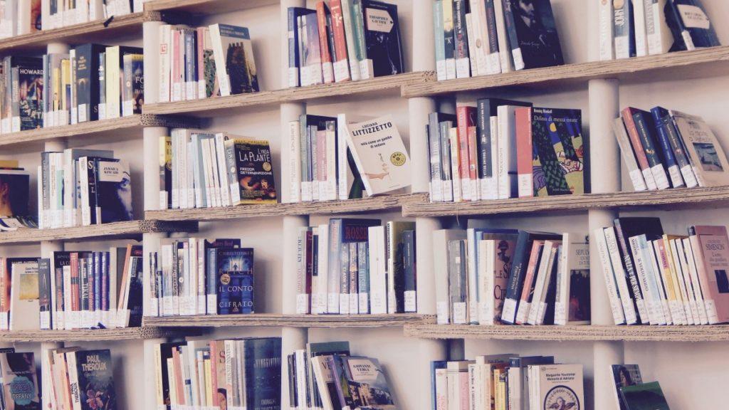 Libraire Italienne - Photo domaine public