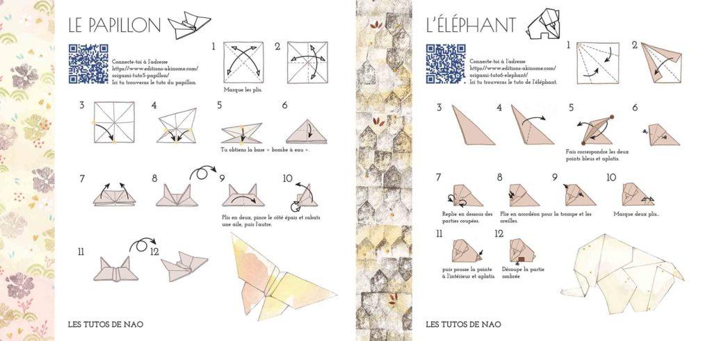 Nao et ses origamis : tutos
