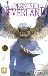 Couverture du tome 13 de The Promised Neverland chez Kazé Manga