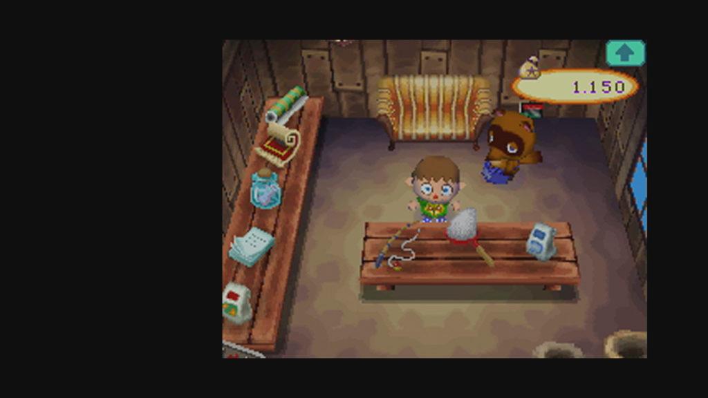 Boutique de Tom Nook, Animal Crossing : Wild World