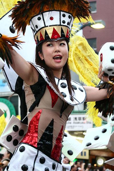 Carnaval de Samba d'Asakusa (Tokyo), en août 2006