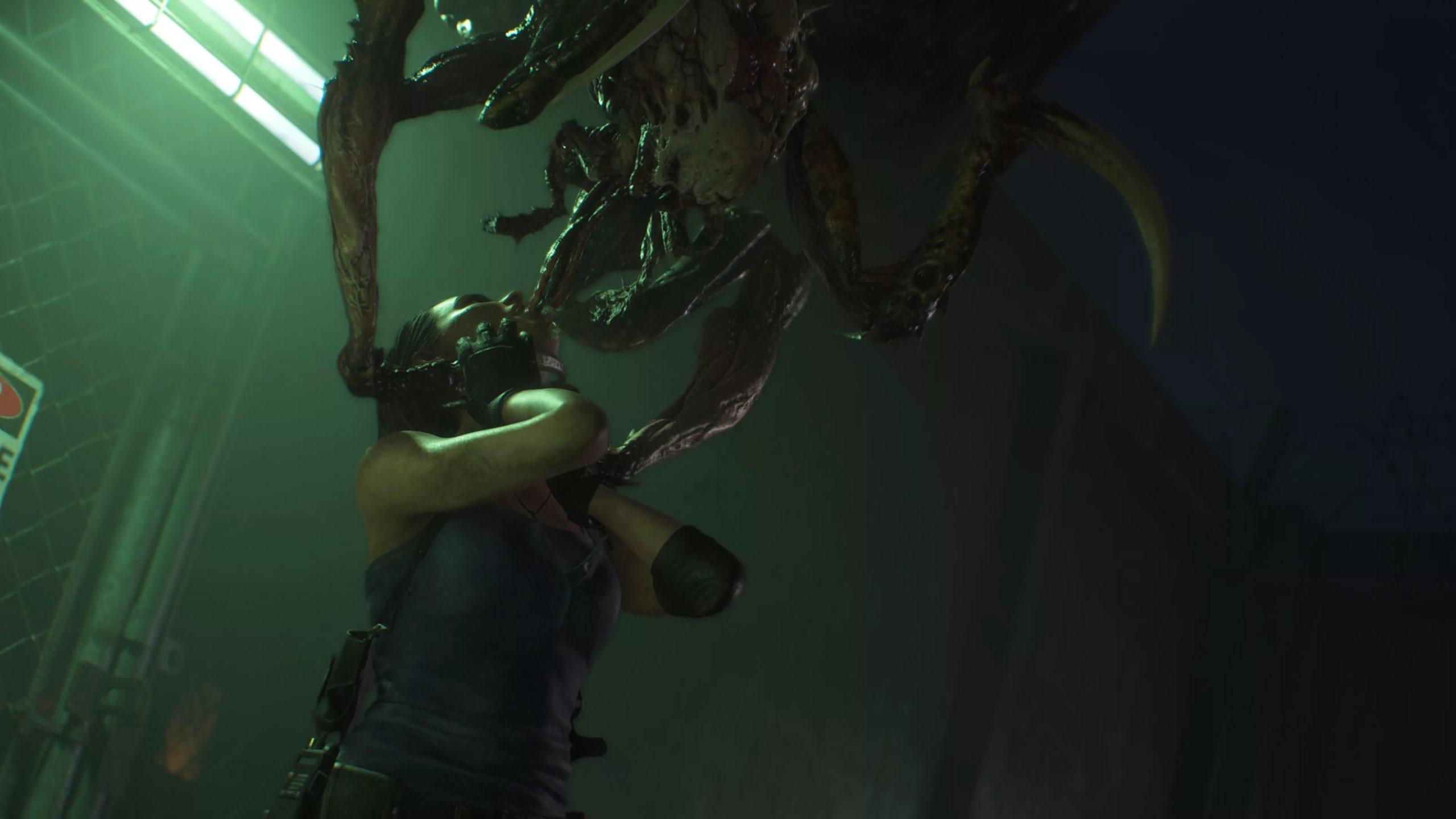 Drain Deimos qui pond des oeufs dans ses victimes façon Alien