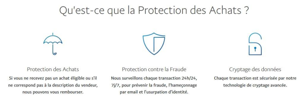 Protection des Achats avec le paiement PayPal