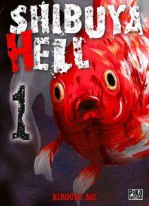 Couverture du tome 1 de Shibuya Hell chez Pika