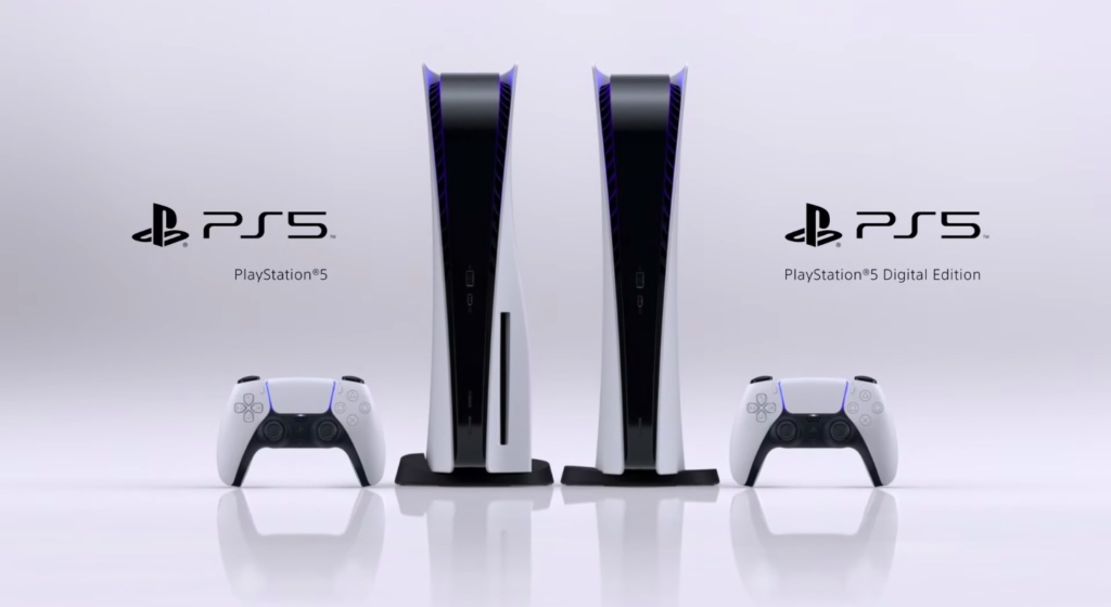 Deux modèles de PlayStation 5