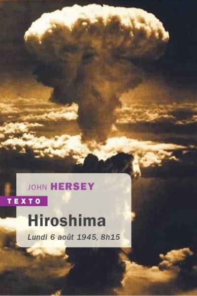Hiroshima de John Hersey, éditions Tallandier : couverture