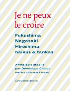 Je ne peux croire, éditions Bruno Doucey : couverture