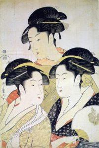 Utamaro et le bijin-ga