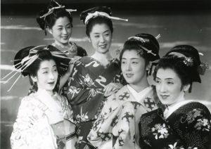 Cinq femmes autour d'Utamaro par Kenji Mizoguchi