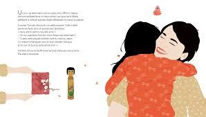L'amie en bois d'érable de Delphine Roux et Pascale Moteki, éditions HongFei, page intérieure