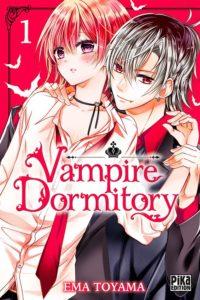 Couverture du tome 1 de Vampire Dormitory chez Pika