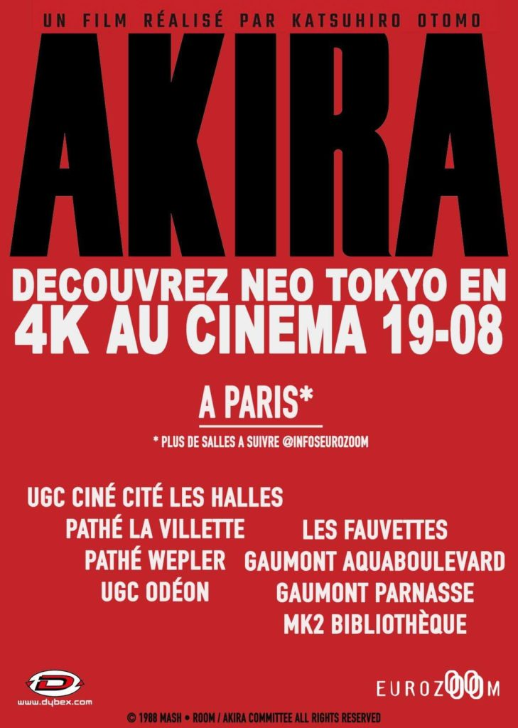 Akira Salles Paris.