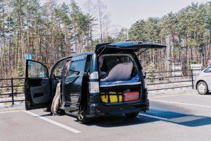 Le van du voyage ©80JoursJapon