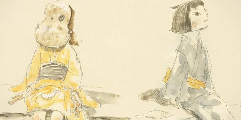 Inu-Oh et Tomona, designé par Taiyo Matsumoto