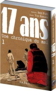 Couverture de 17 ans une chronique du mal chez naBan éditions