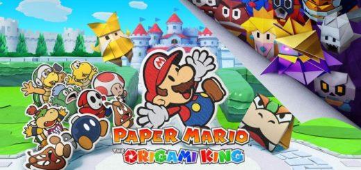 Une Paper Mario The Origami King