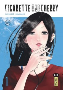 Couverture du tome 1 de Cigarette & Cherry chez Kana