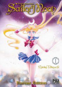 Couverture du tome 1 de Sailor Moon Eternal Edition chez Pika
