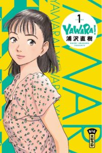 Couverture du tome 1 de Yawara! chez Kana