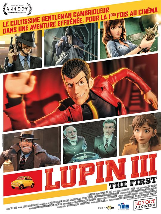 LUPIN III: THE FIRST affiche