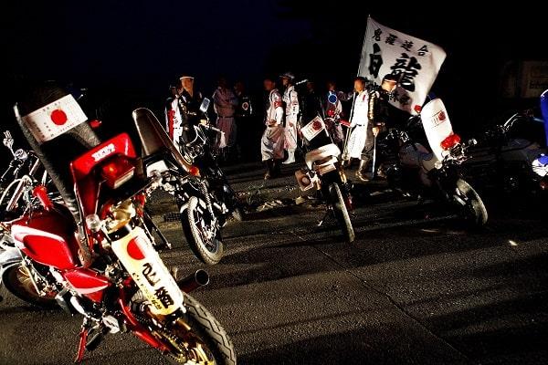 Rassemblement de bosozoku@Common wikimedia