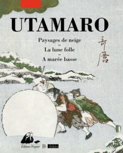 Utamaro Paysages de neige, éditions Picquier : couverture