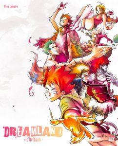 Couverture de l'artbook de Dreamland