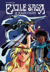 Couverture de Exile Saga le dragon d'argent chez Black Box Editions