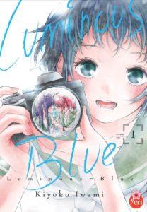 Couverture du tome 1 de Luminous Blue chez Taïfu Comics