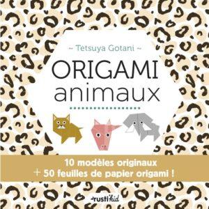 Origami animaux de Tetsuya Gotani aux éditions Rustica