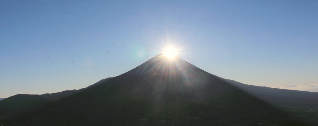 Diamond Fuji ©Alpsdake (Creative Commons)
