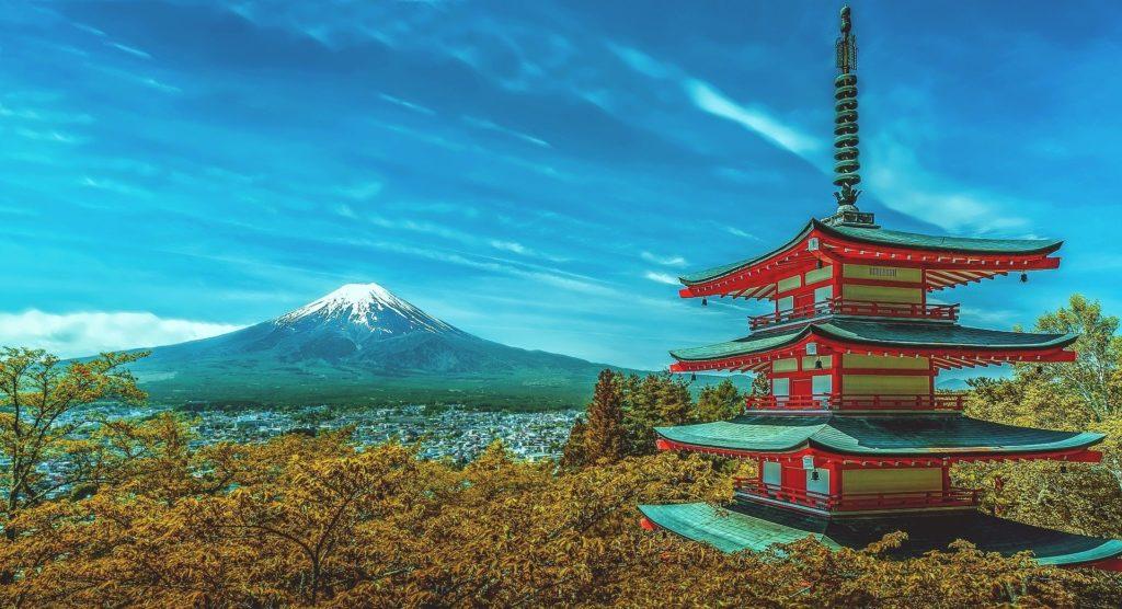 Le mont Fuji ©Walkerssk (Pixabay)