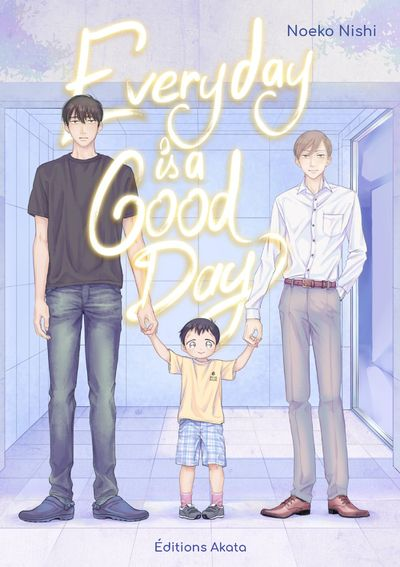Couverture du Everyday is a good day chez Akata