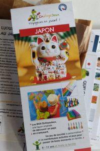 Macaron du pochon envoyajeux sur le Japon