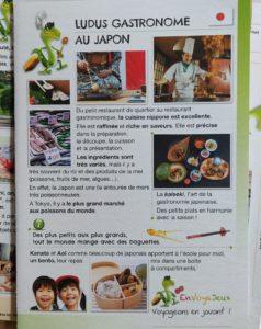 Exemple d'activité ludique de la box Envoyajeux spéciale Japon