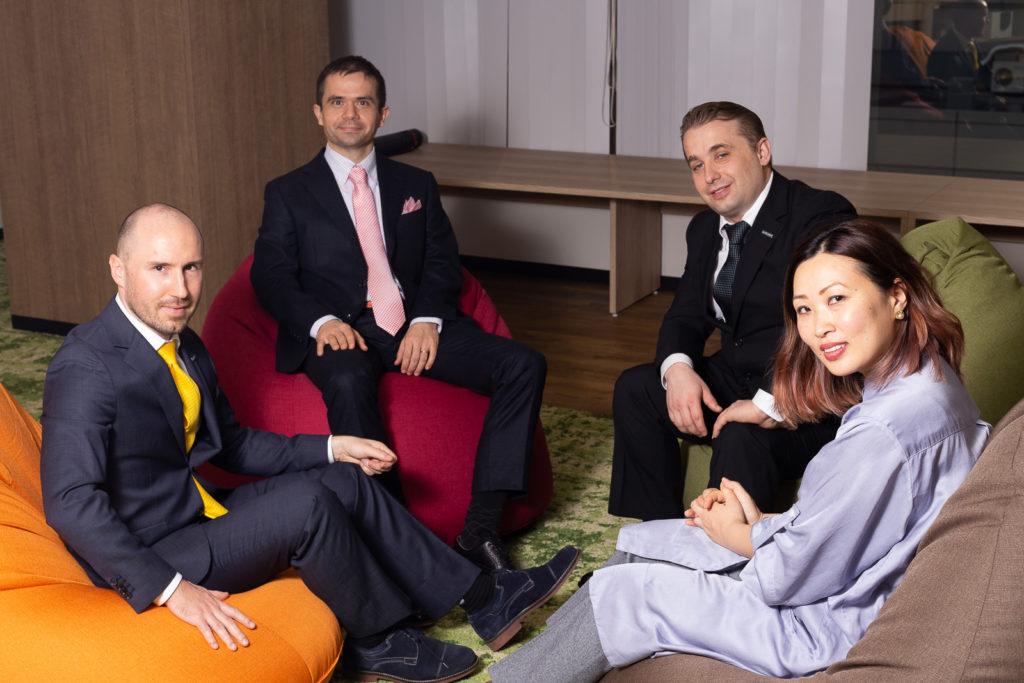 Les 4 fondateurs ©ZenMarket