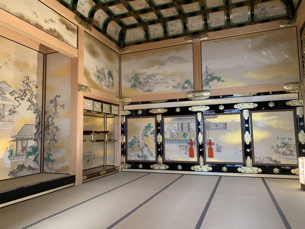 Château de Nagoya, vue intérieure