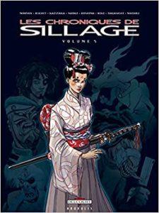 Les chroniques de Sillage - Edition spéciale en collaboration avec six auteurs japonais / ©Jean David Morvan et Philippe Buchet - Delcourt