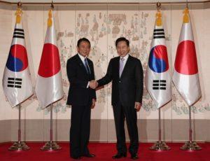 Sommet Corée - Japon en 2009
