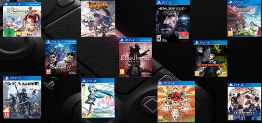 top Jeux japonais PS4