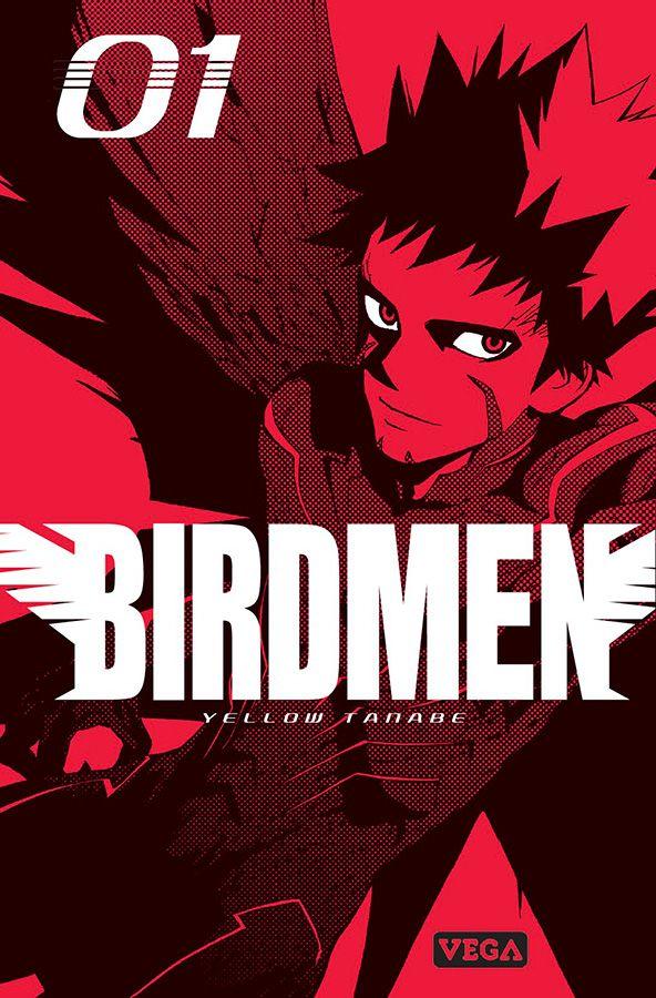 couverture du tome 1 de birdmen chez vega