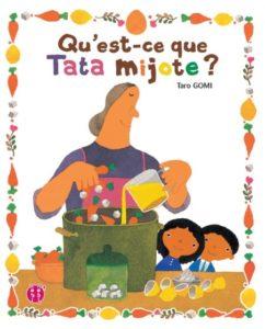 Qu'est-ce que Tata mijote de Taro Gomi, éditions nobi nobi : couverture